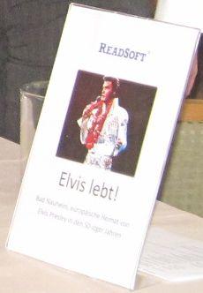 ReadSoft Elvis lebt Kickoff 2013