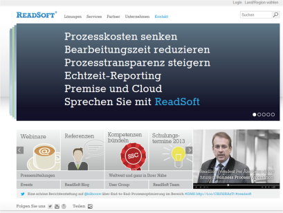 Home ReadSoft Website
