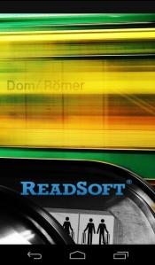 ReadSoft Mobile App - Startseite