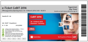 CeBIT-Ticket ReadSoft